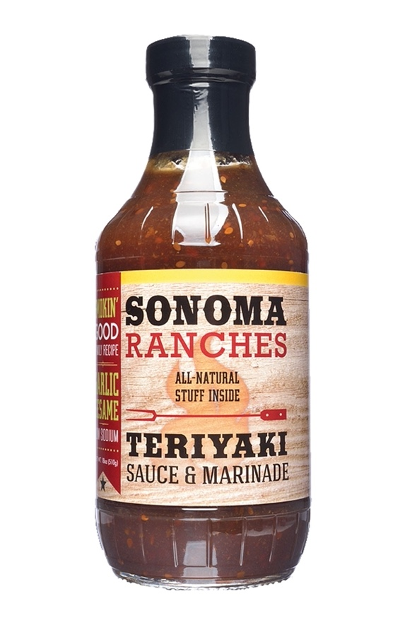 W143 - Teriyaki Sauce & Marinade 455 ml - Sonoma Ranches